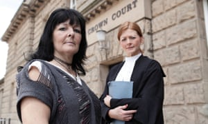 Vivienne Driver-Hart and Jayne Morris in The Prosecutors: Real Crime and Punishment.