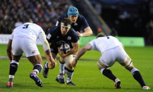 Scotland v England in the 2020 Six Nations at Murrayfield.