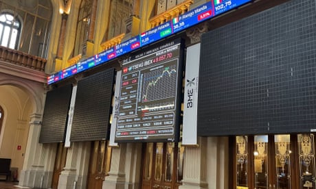 European shares tumble as Evergrande crisis and energy price surge hits markets – business live