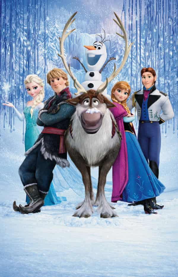 Still featuring characters from Frozen.