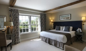 Bedroom at the Bell Inn, New Forest