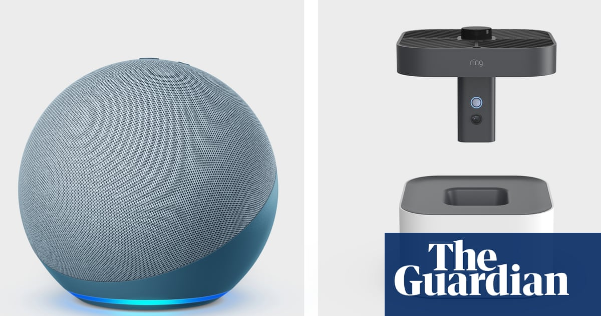 Amazon launches spherical Echo and flying camera drone