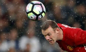 Manchester United's Wayne Rooney in action during the Premier League match against Hull City