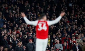 Granit Xhaka responds to being booed by Arsenal's fans when substituted against Crystal Palace.