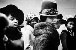 USA. Harlem. NY. 1963. Harlem Fashion Show.