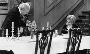Dinner for One, starring Freddie Frinton and May Warden, was watched by 12 million Germans last year.