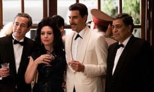 Agent of change ... Sacha Baron Cohen in The Spy.