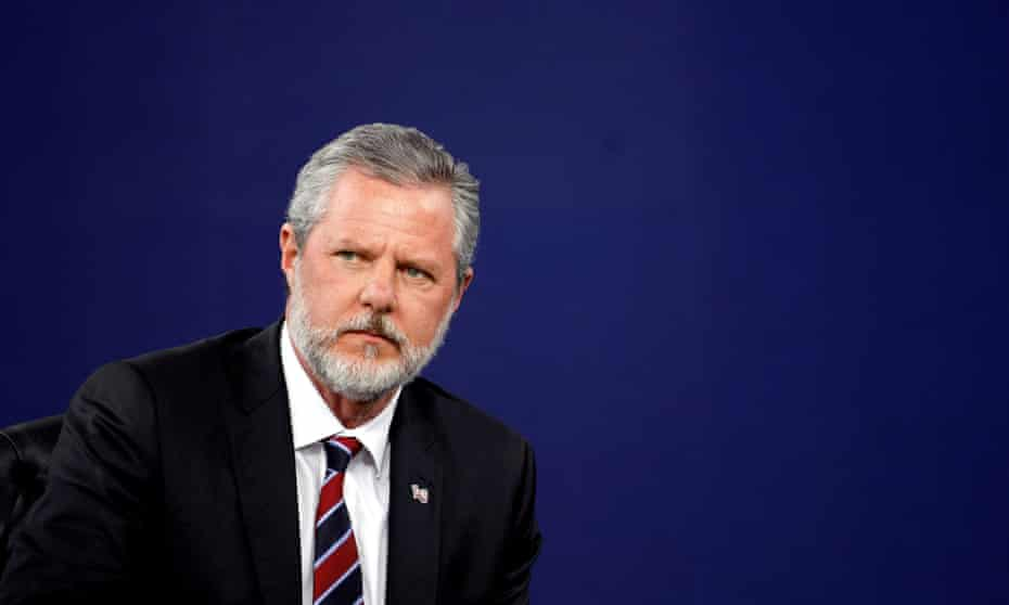 Jerry Falwell Jr resigned in the wake of an extortion scandal last year.
