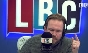 James O'Brien: 'his voice pitches young, while his arguments are the most mature on phone-in radio.'