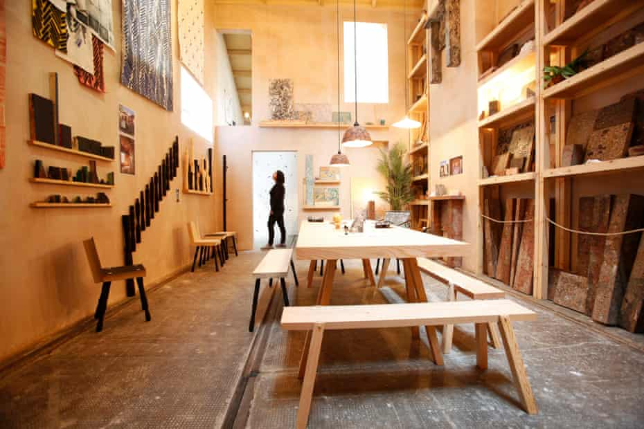 Assemble's Granby Four Streets installation at the Turner prize show in Glasgow.