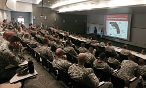 NRA trains national guard members on firearms after