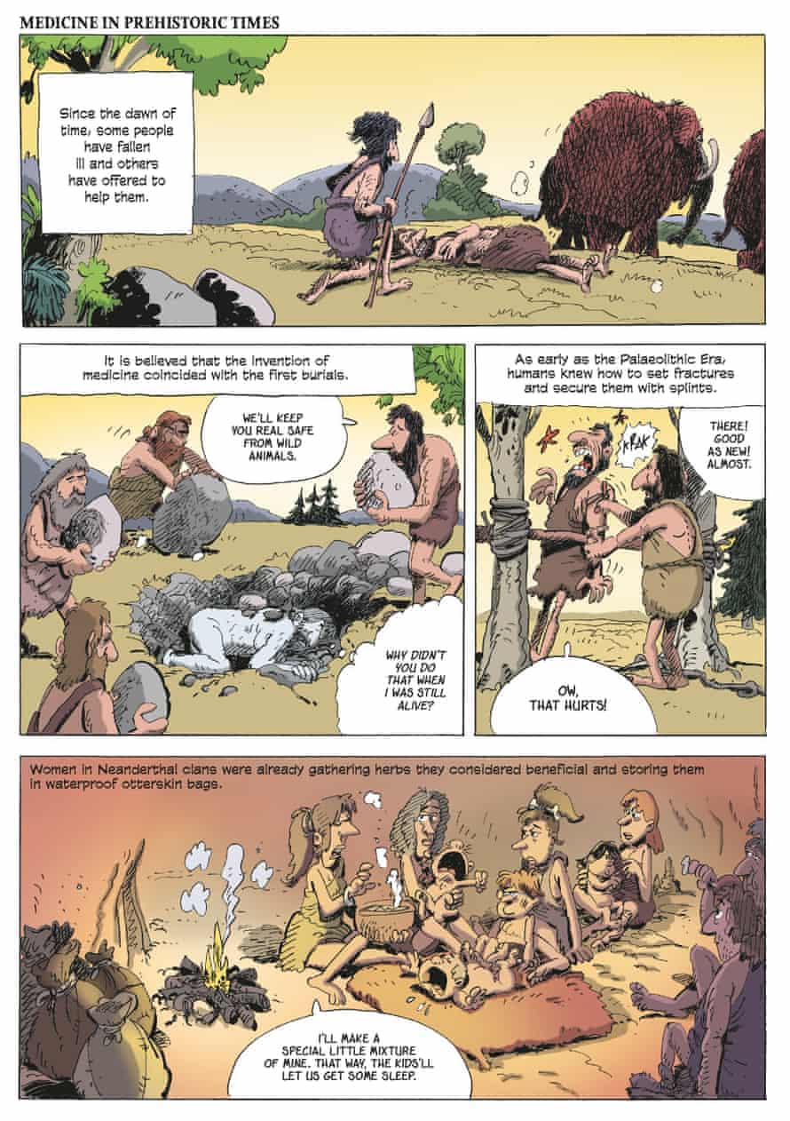 Medicine: A Graphic History by Jean-Noël Fabiani and Philippe Bercovici.
