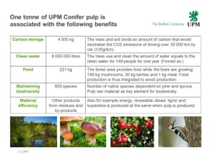 Findings from UPM's positive impact of sustainable forestry study
