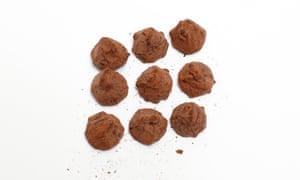 Marks & Spencer Belgian Cocoa Dusted Truffles
