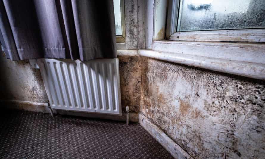 Squalid housing in Weston-super-Mare.