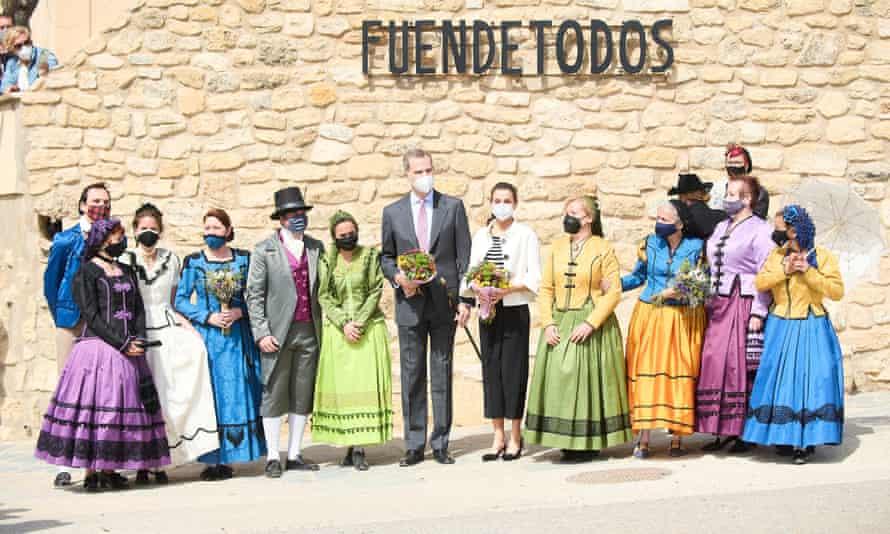 Llegan el rey Felipe VI y la reina Leticia Fuentedos el 29 de marzo para celebrar el nacimiento de Goya