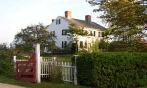 """""""EB White's house in Maine"""""""