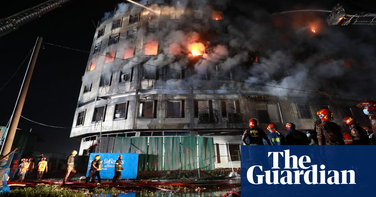 Bangladesh factory fire kills at least 52 people