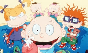 'The charm was how wobbly and hand-drawn it looked' ... the Rugrats.
