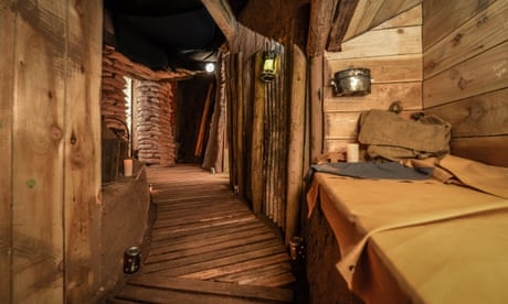 Somme trench recreated in Welsh castle to salute battle's centenary