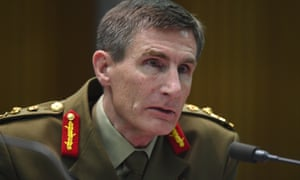 The chief of the Australian Defence Force, General Angus Campbell