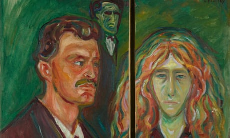 Edvard Munch 'reunited' with fiancee for British Museum show