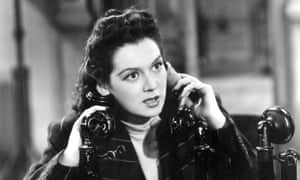 Rosalind Russell in His Girl Friday.