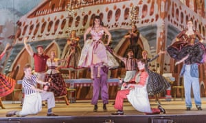 A production of Kiss Me Kate, Cole Porter's take on The Taming of the Shrew.