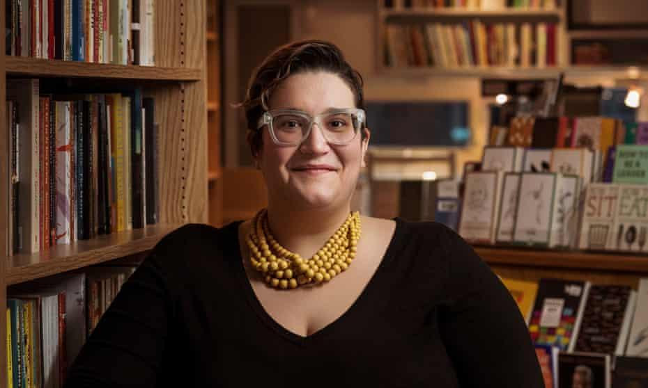 Carmen Maria Machado at the Joseph Fox bookstore in Philadelphia.