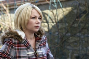 Makes the most of her screen time … Michelle Williams.