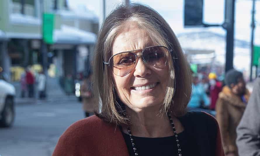 Gloria Steinem during the Sundance film festival in Park City, Utah