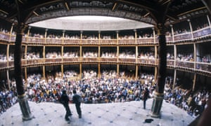A wider angle on culture … Shakespeare's Julius Caesar - heavily dependent on the writings of Plutarch – being performed at the Globe Theatre in London.