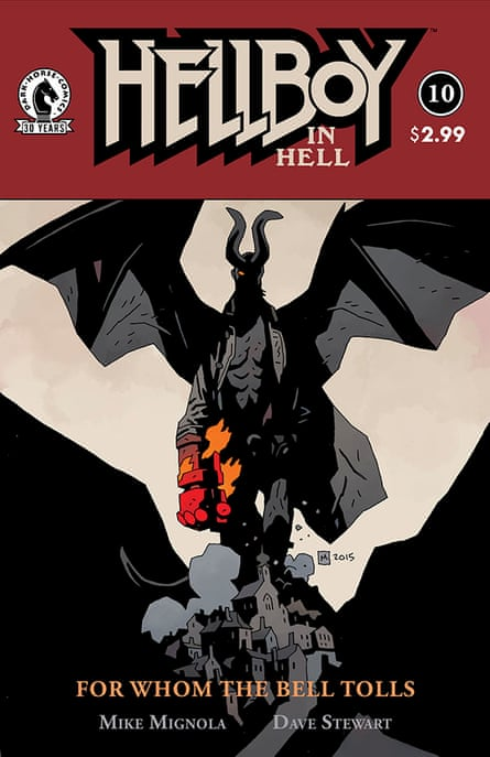 Hell tonight: Hellboy's concluding comic.