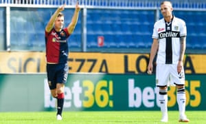 Krzysztof Piatek scored for the seventh consecutive league match but it proved only a consolation for Genoa against Parma.