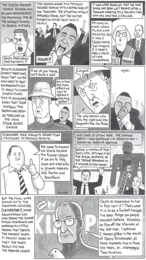 David Squires on … the end of the Premier League season.