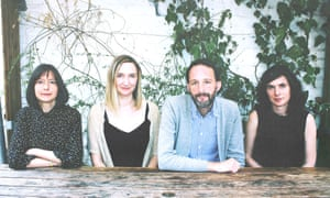 Emily Portman, Rachel Newton, Alasdair Roberts and Lucy Farrell, aka The Furrow Collective.