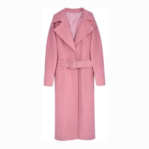 Editor's pick: opt for a fitted silhouette Pink belted, £85, topshop.com.