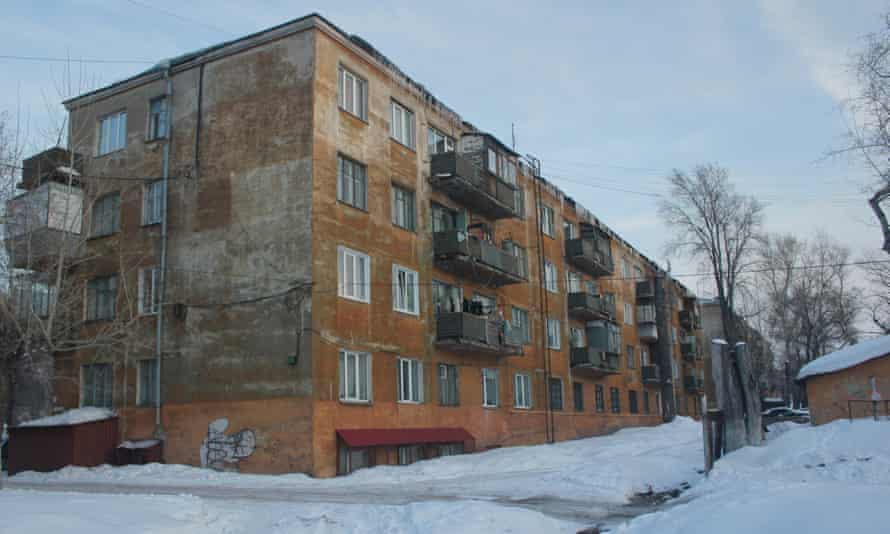 Ernst May's Sotsgorod ('socialist city'), the oldest residential area of Magnitogorsk.