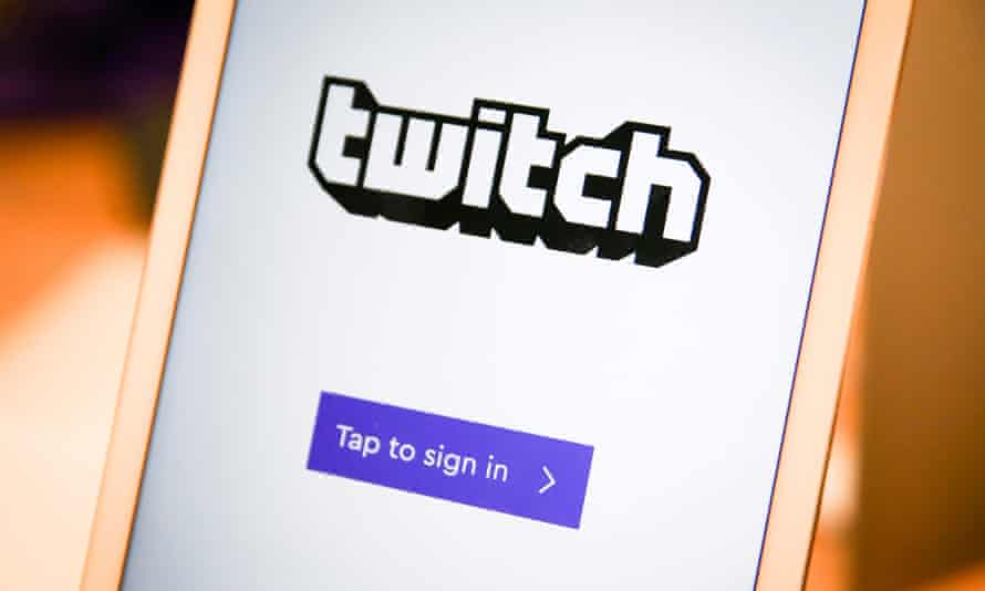 Twitch, a social video platform and gaming community owned by Amazon.
