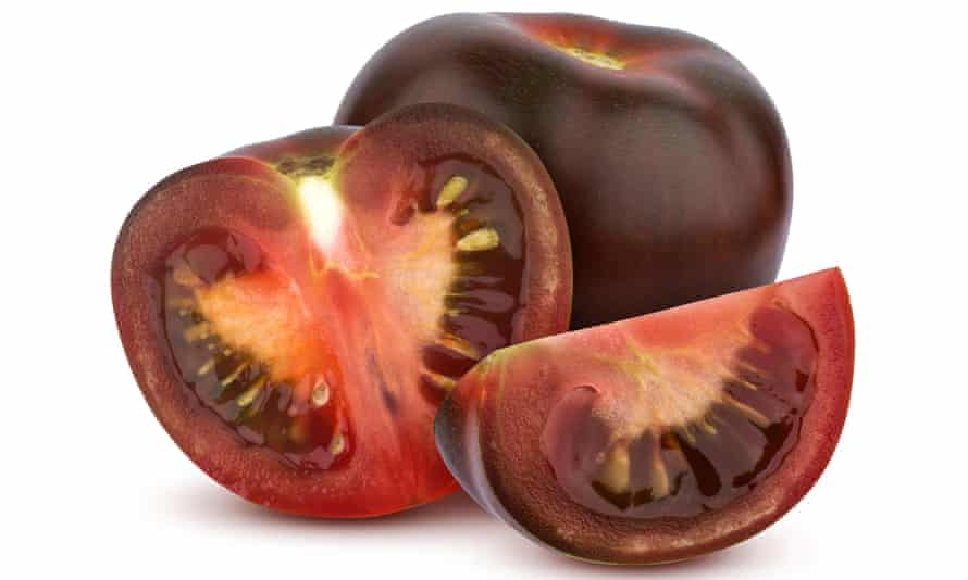 Major toms: black tomatoes, a product of US-Israeli experimentation.