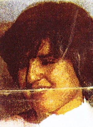Amal bin Laden, youngest wife of Osama