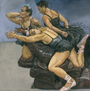 Paula Rego's Dancing Ostriches from Disney's 'Fantasia', 1995.