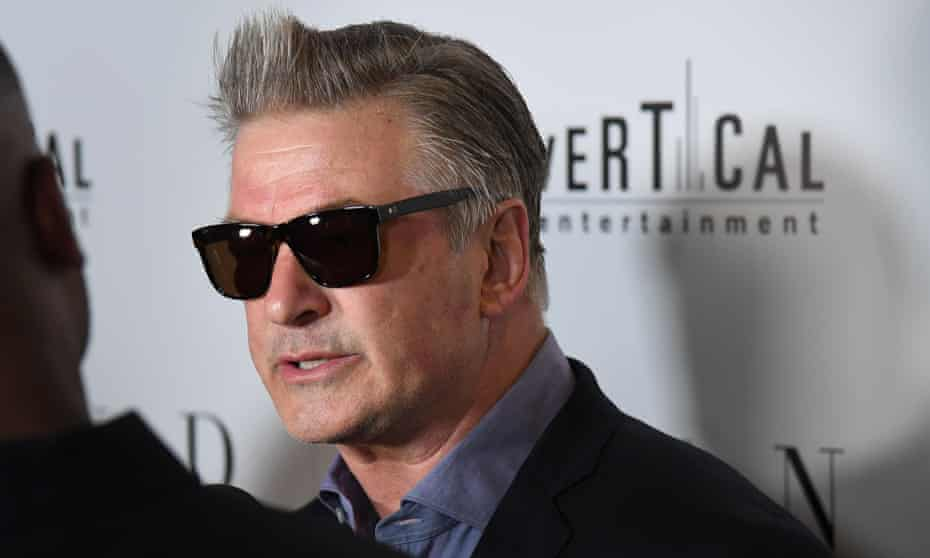 Alec Baldwin at the premiere of Blind.
