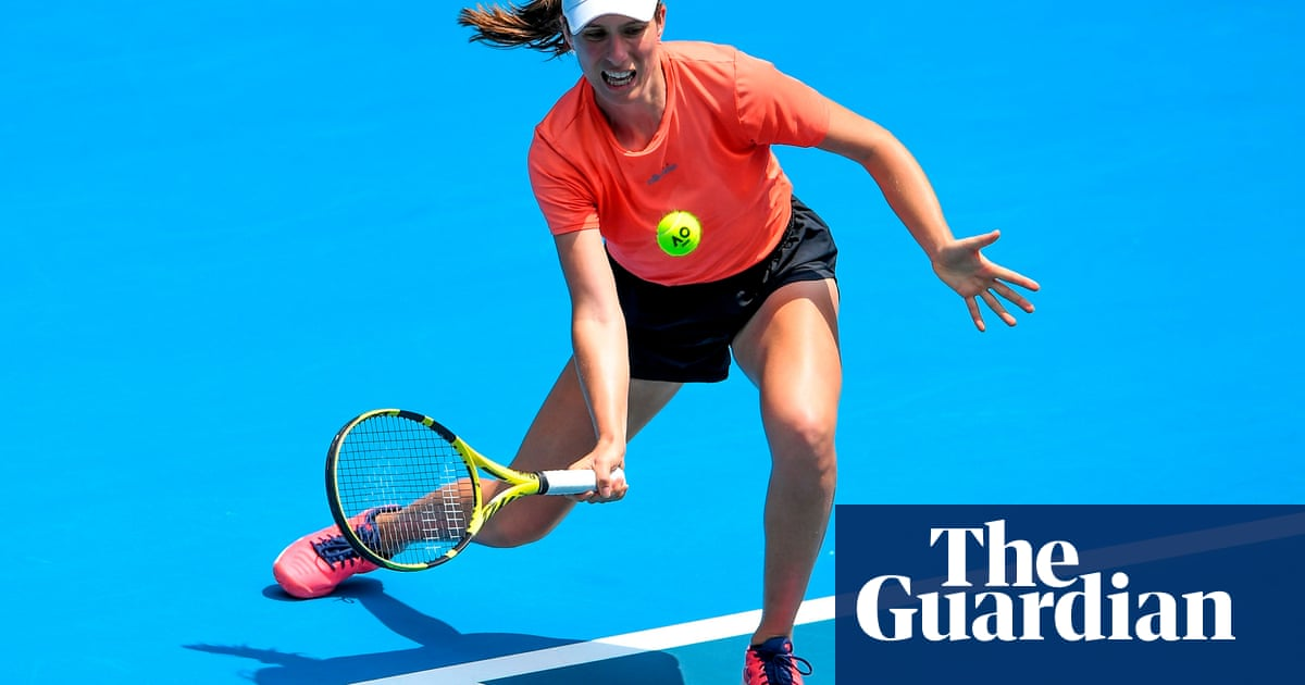 Johanna Konta fit for Australian Open but will skip GB duty in Fed Cup