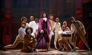 On Broadway … Daveed Diggs as Thomas Jefferson in  Hamilton.
