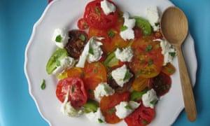 The perfect caprese salad.
