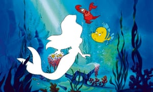 The Little Mermaid was animated by Glen Keane, but he can't picture in his head.