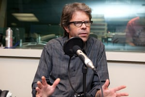 Jonathan Franzen being interviewed for the Guardian in 2010.