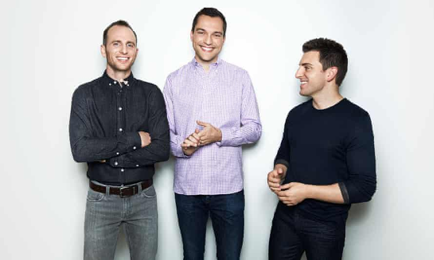 Joe Gebbia, Nathan Blecharczyk and Brian Chesky, the co-founders of Airbnb, are set to become enormously wealthy when the company becomes listed.