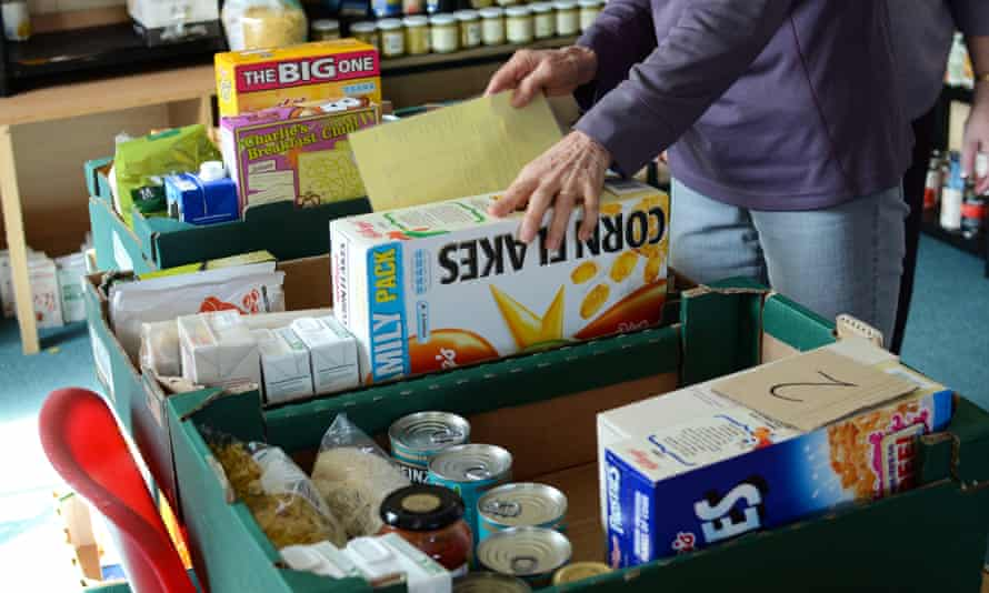 A food bank in Cornwall
